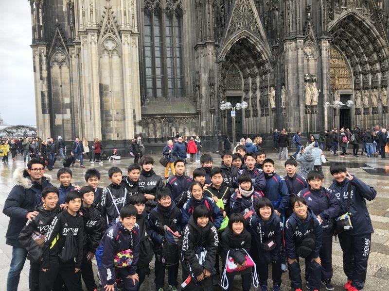2018年12月17日〜27日 暁星国際中学校(千葉県)ドイツ・ベルギー遠征 実施 写真1