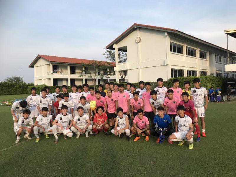 暁星国際高校(千葉県)タイ遠征 実施報告 写真1